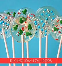 easy homemade holiday lollipops