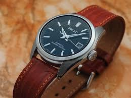 seiko sarb033 with leather strap