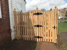 Western Red Cedar Spaced Picket Fence With French Gothic Posts And Concave Top American Traditional Garden Philadelphia By Paramount Fencing