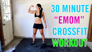 30 minute crossfit emom home workout