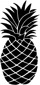 Pineapple Car Or Truck Window Decal Sticker Rad Dezigns