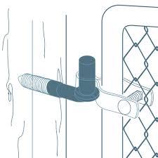 Tools Home Improvement Hardware Heavy Duty J Hook Male Gate Hinge Pin Hinge J Bolt Nuts Provided Qty 1 Easy Install J Bolt Hinge 5 8 X 8 Long Threaded Bolt Hinge To Chain