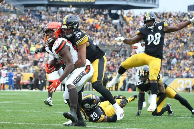 Image result for Joe Haden is Going to Try and Improve a Horrible Pass Defense for the Browns""