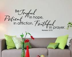 Joyful On Etsy A Global Handmade And Vintage Marketplace Prayer Wall Quotes Inspirational Positive Name Wall Decals
