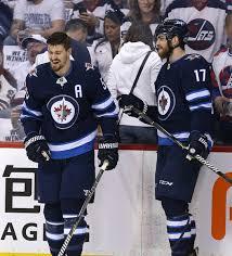 Adam Lowry, Mark Scheifele - Adam Lowry Photos - Nashville Predators Vs.  Winnipeg Jets - Game Four - Zimbio