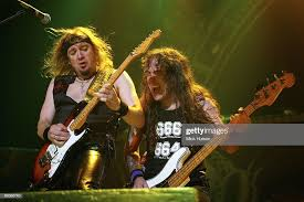 Photo of Adrian SMITH and IRON MAIDEN and Steve HARRIS, Adrian ...