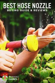 5 best hose nozzles and sprayers for
