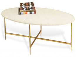 marble top table gold oval coffee table