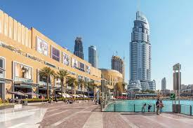 the dubai mall s location map