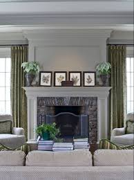 houzz fireplace surround with images