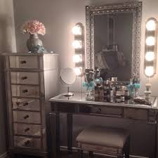 mirrored storage dresser