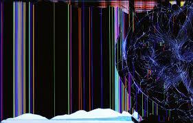 tv broken screen wallpapers