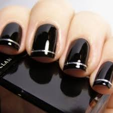 black nail art designs and ideas