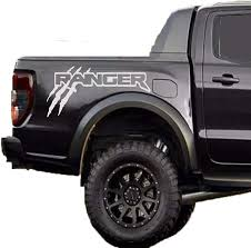 Amazon Com Pickup Truck Ford Ranger Stickers Raptor Svt Bedside 2x Set Outline Claw Scratch Graphics Claws Decal Sticker Set 2019 2020 Arts Crafts Sewing