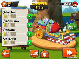 Angry Birds GO Christmas Update Santa Sleigh Upgrade