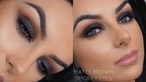 black brown smokey eye makeup