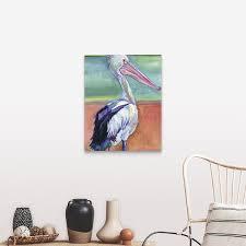 Shop Pelican Canvas Wall Art Overstock 16894016
