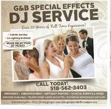 g b special effects dj service