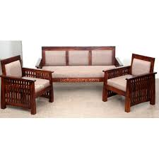 sofa set for indian homes in pure wood