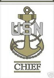 U S Navy Chief Petty Officer Sticker Window Car Decal Ebay