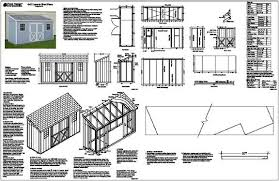 5 sided garden shed plans pdf 2020