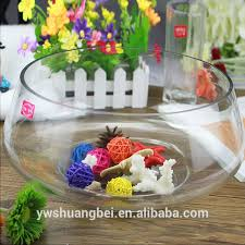 hot aquarium round glass fish tank