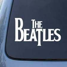 Amazon Com The Beatles Vinyl Decal Sticker A1375 Vinyl Color White Automotive