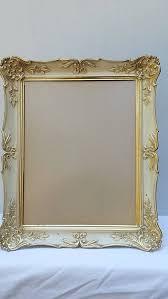large ornate gold picture frame vintage