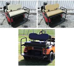 golf cart parts accessories seating