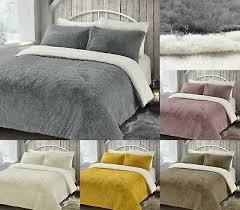 teddy bear duvet set fleece bedding