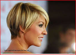 short hairstyles for fine hair over 60