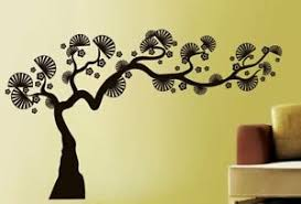 Black Bonsai Natural Tree Wall Sticker Home Decor Vinyl Decal Ebay