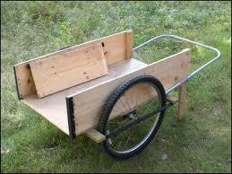 large wheeled cart garden cart