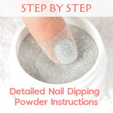 step by step detailed dipping powder