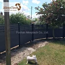 China Easy Installation Wood Plastic Composite Wpc Privacy Fence For Garden Decoration China Privacy Fence And Wpc Fence Price