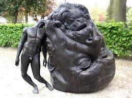 sculptures in victoria s way park