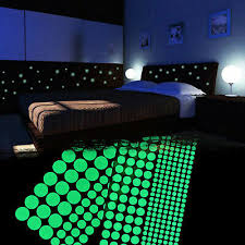 400pcs Kids Ceiling Wall Stickers Bedroom Glow In The Dark Stars Home Decoration For Sale Online