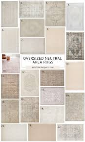 where to find large neutral area rugs