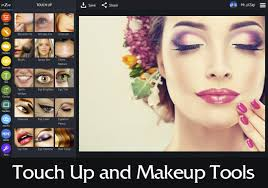 photo editor with makeup tools
