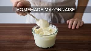 no fail homemade mayonnaise recipe