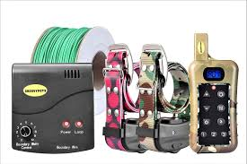 Groovypets Fence Remote Dog Trainer System 2 Collars Chewy Com