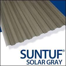 suntuf corrugated polycarbonate sheet