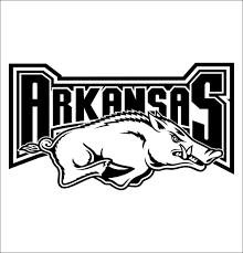 Arkansas Razorbacks Decal North 49 Decals