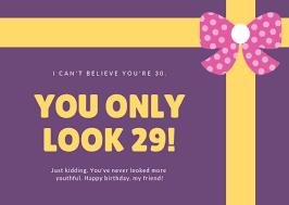 50 Funny Birthday Card Ideas