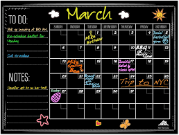 Amazon Com Large Chalkboard Wall Calendar Planner By Flat Harmony Weekly And Monthly Organizer 23 X 18 For Office Kitchen And Refrigerator Erasable And Durable Sticker Decal Office Products