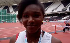 Video: Dina gets gold at School Games | Sportsister
