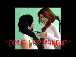 tutorial the sims 4 doing her make up