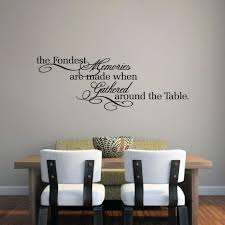 The Fondest Memories Wall Decal Kitchen And Dining Room Quotes Sweetums Signatures