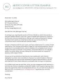 artist cover letter exle resume genius