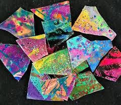 dark glitz premium metallic multi color